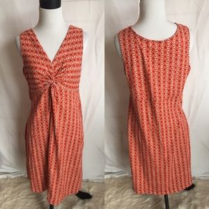 Eddie Bauer outdoor casual dress sleeveless medium